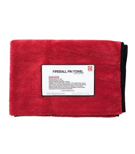 FIREBALL PIN TOWEL PREMIUM LIMITED RED 72X95
