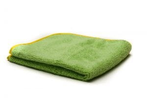 Poorboy's World Deluxe Mega Plush Towel Zielony 40x40