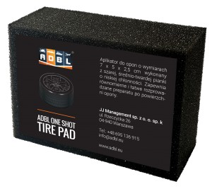 ADBL Aplikator One Shot Tire Pad