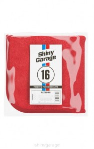 Red Finisher Plush Microfiber 600g 40x40